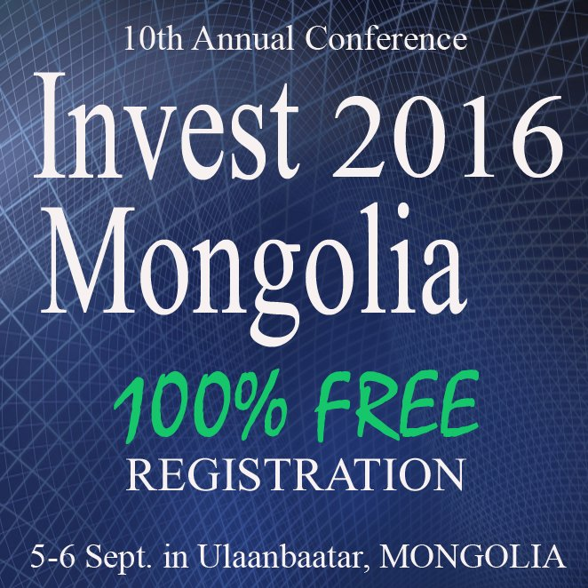 Invest Mongolia 2016
