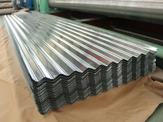Roofing sheet, steel coil