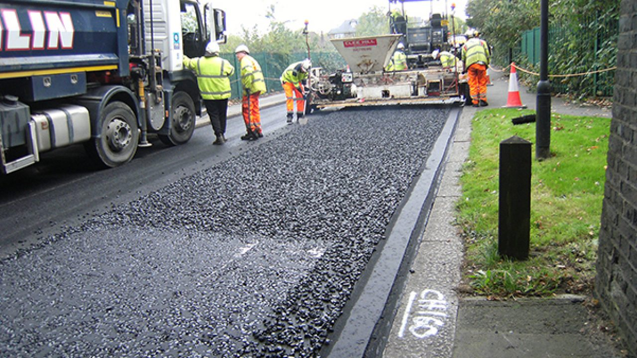 Waste plastics based road technology (UK)